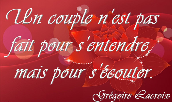 citation couple ecoute